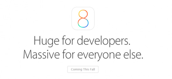 apple ios8 презентация