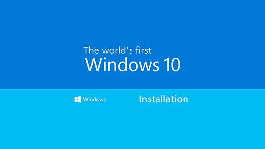установка і оновлення Windows 10 Київ